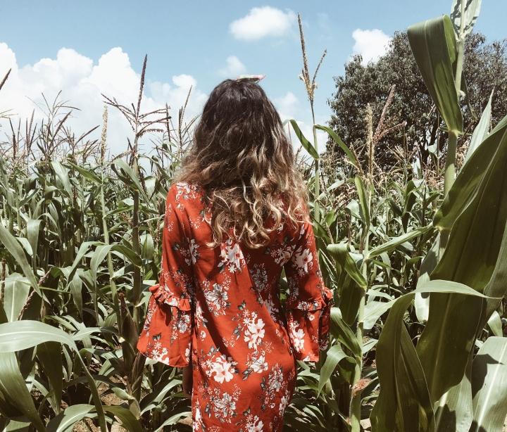 Blogger mexicana apreciando la belleza de México