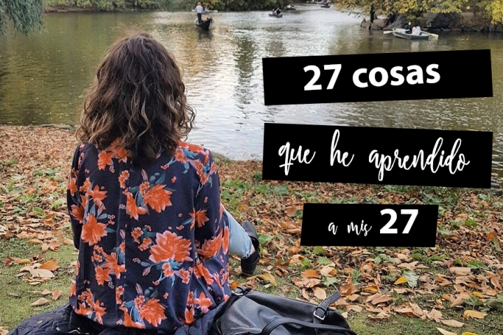 27 cosas que he aprendido a mis27
